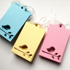 Pastel Bird gift tags. Easter, gift wrapping, birthday party, baby shower.
